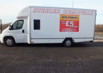 Deans Camera 2015 214 - Steeles Van with prices on