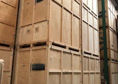 Wooden storage containers £7 per week ulverston