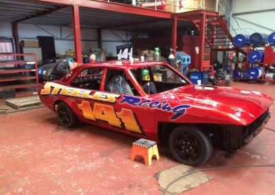 IMG_5162 - Dan & Robbie Steele Banger Racers