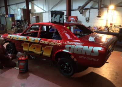 IMG_5196 - Dan & Robbie Steele Banger Racers
