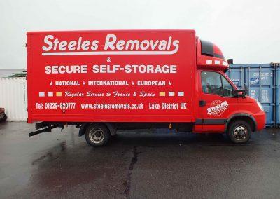 March 2014 085 - Steeles red van
