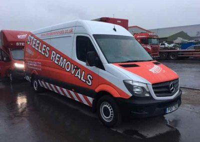 steeles new van