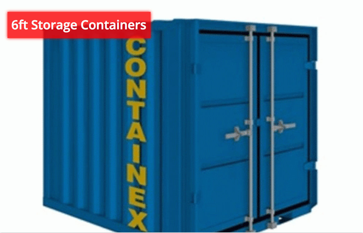 6ft Storage Containers